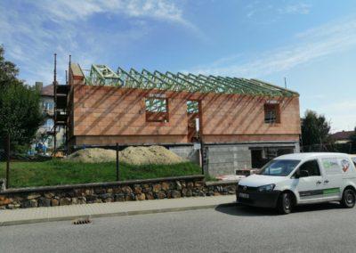 Sedlová střecha v Přibyslavi