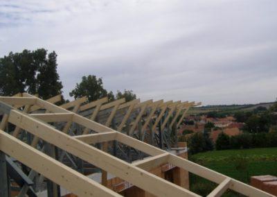 Střecha RD v Senoradech