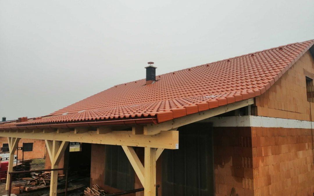 Střecha na klíč v Dolních Borech
