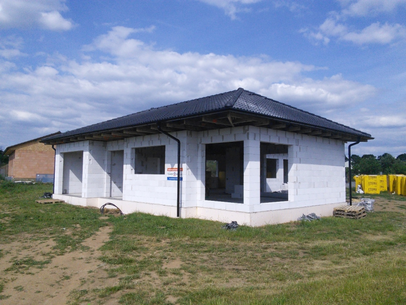 Střecha rodinného domu ve Vladislavi