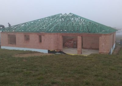 Valbová střecha v Kozlanech
