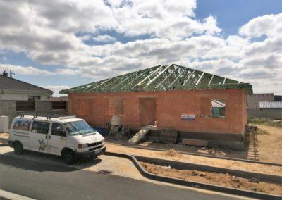 Valbová střecha v Trnavě u Třebíče
