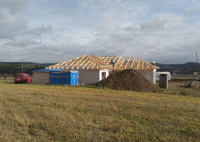 Zastřešení rodinného domu v Lukách nad Jihlavou