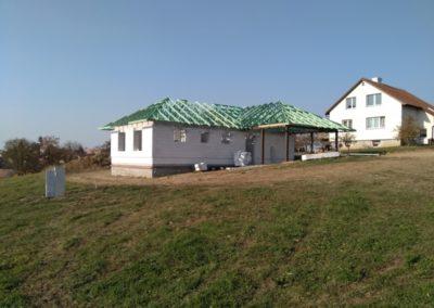 Zastřešení rodinného domu ve Velké Bíteši