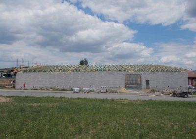 Zastřešení skladovací haly ve Světlé nad Sázavou
