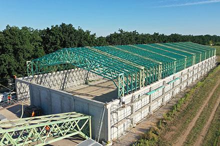 Výroba střechy a dřevěných vazníků - DMK střechy